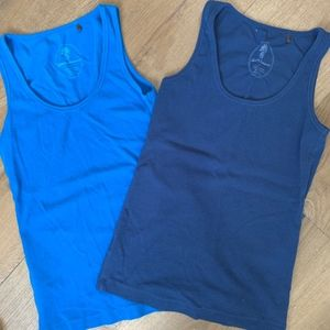Tommy Bahama cotton tanks - blue